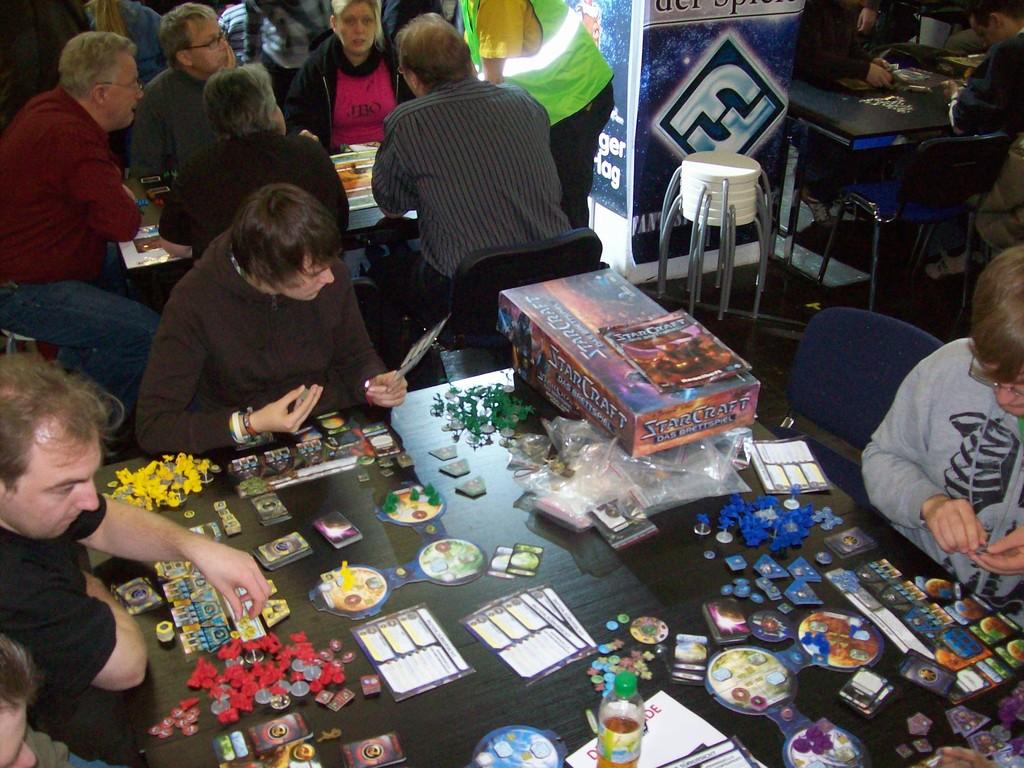Das StarCraft-Brettspiel