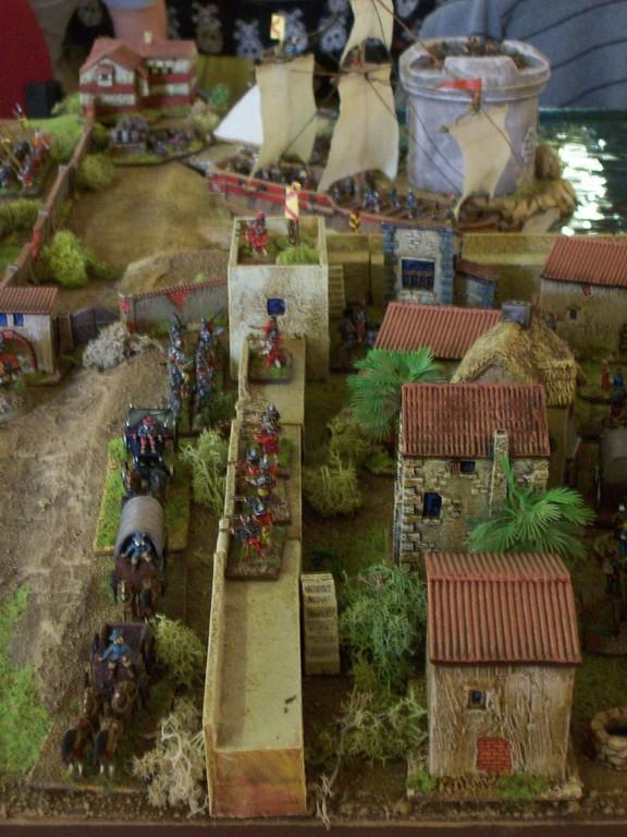 ... Henry Morgans Überfall auf Panama-Stadt.