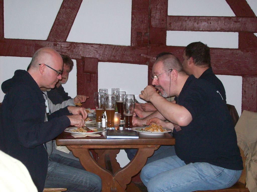 das gemeinsame Abendessen