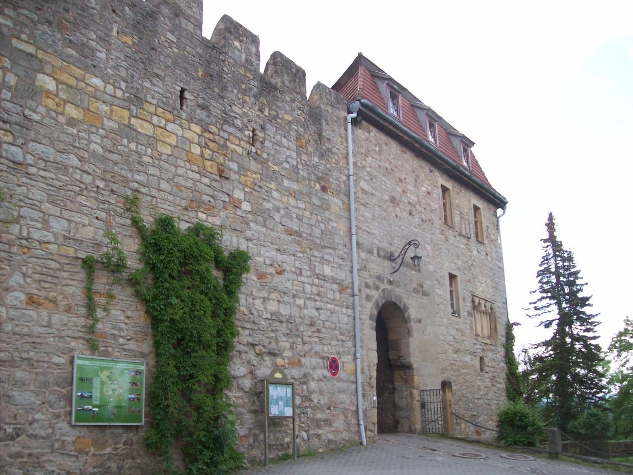 Das Tor zur Creuzburg