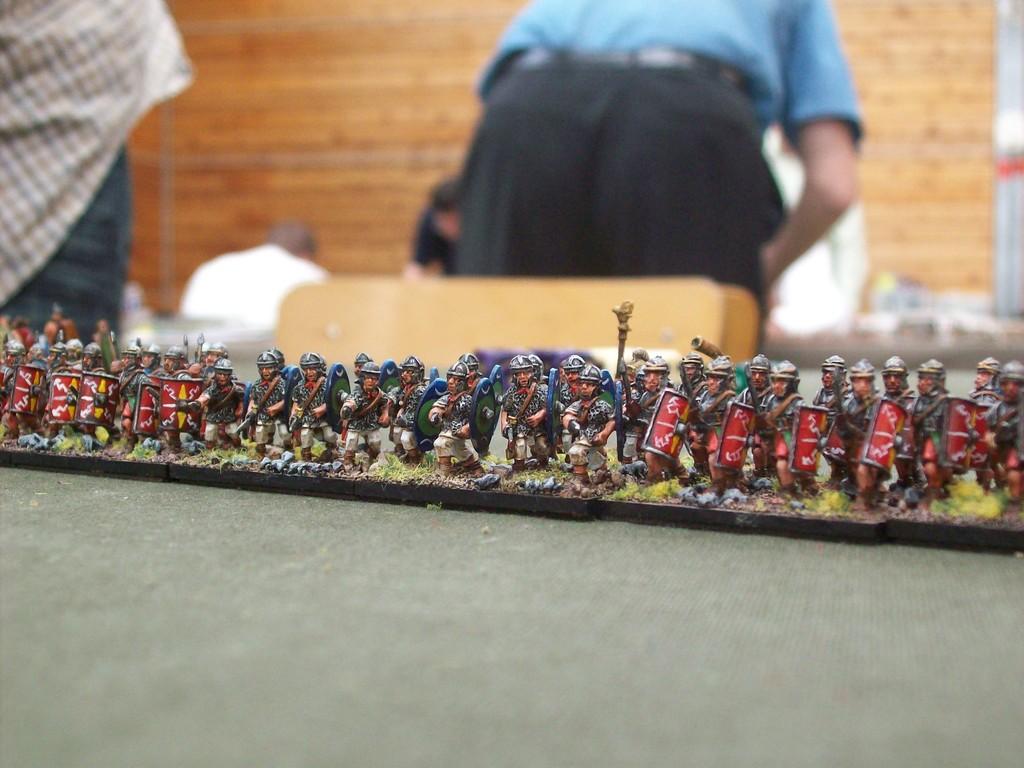 ...mit römischen Verbündeten
