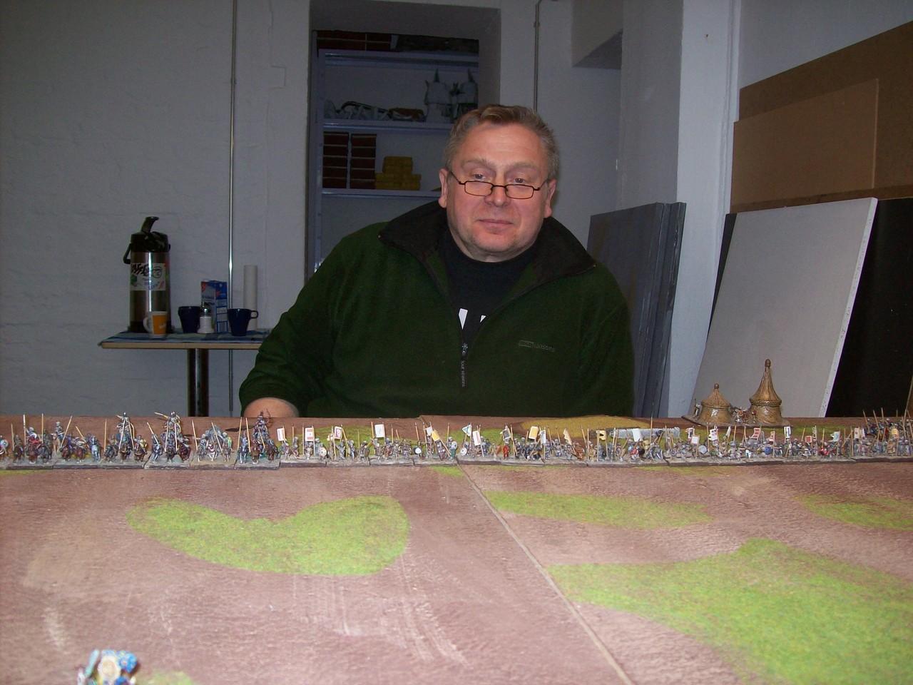 Danach durfte ich gegen Thorsten spielen,...