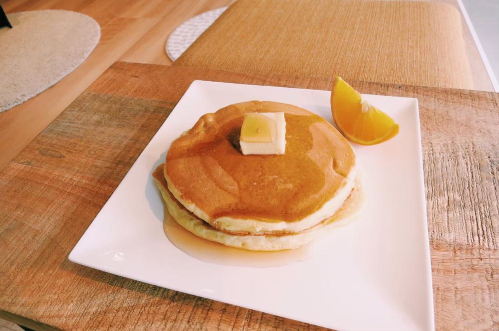 軽食:パンケーキ