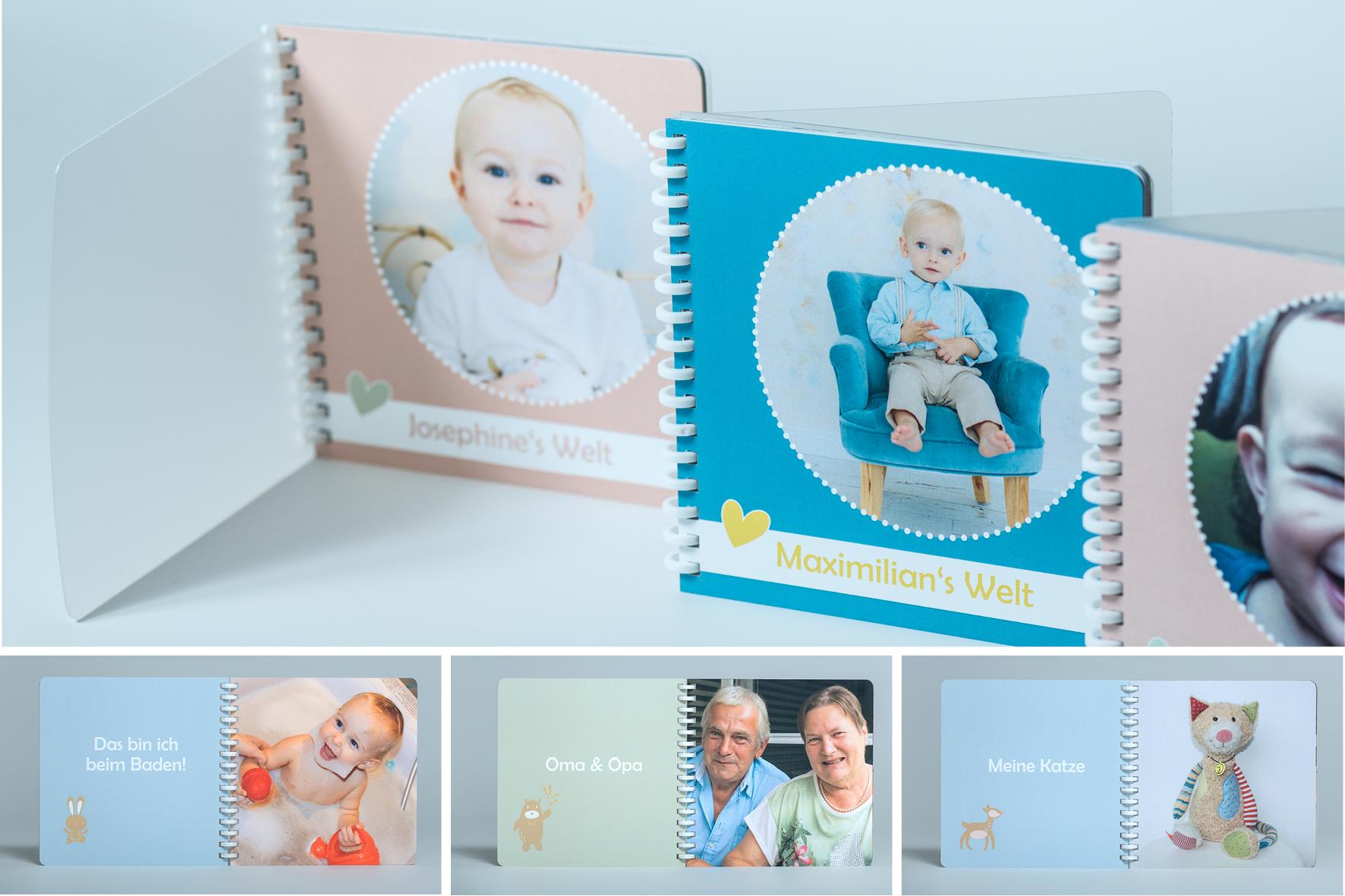 """""""Mein Leben in Bildern"""" - Fotobuch für Kinder: www.meinlebeninbildern.at"""