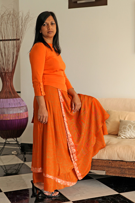 longue orange