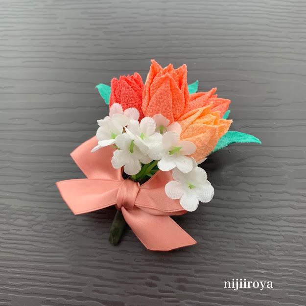 特別講座「チューリップの花束」