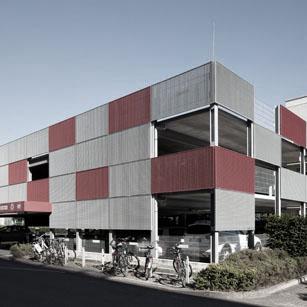 Parkhaus Bürocampus