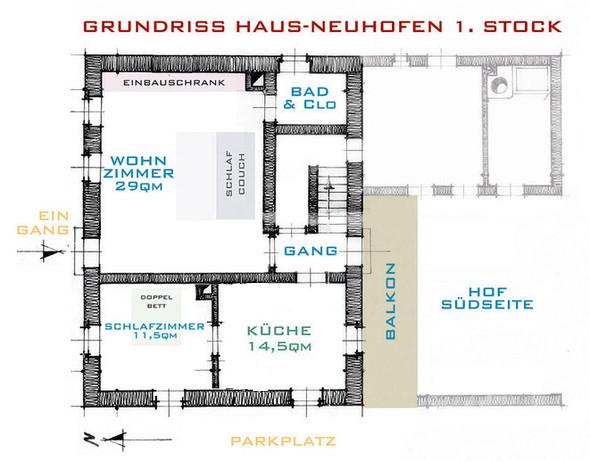 Haus Neuhofen Eugendorf erster Stock
