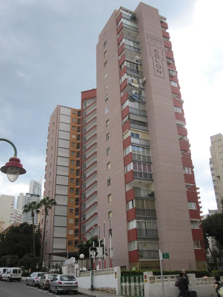 Rehabilitación de Fachadas Edificio Torre Colón - Benidorm