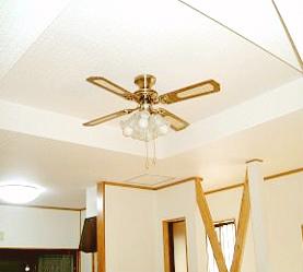 リビングの天井高を上げて開放感のあるスペースに。