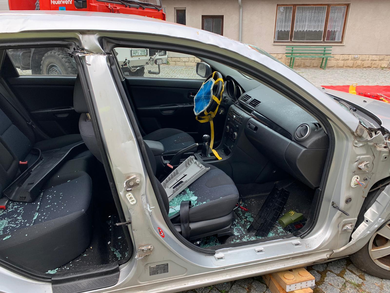Aufbau der Airbagsicherung