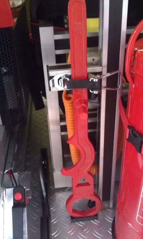 Hydrantenschlüssel/ 2x verladen