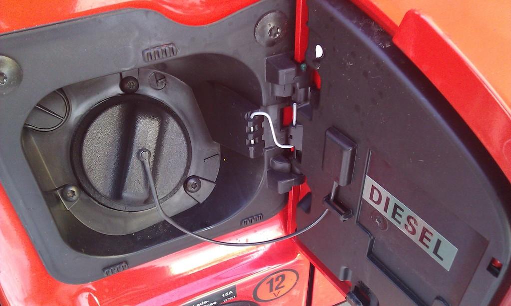 Tankstutzen Fahrerseite