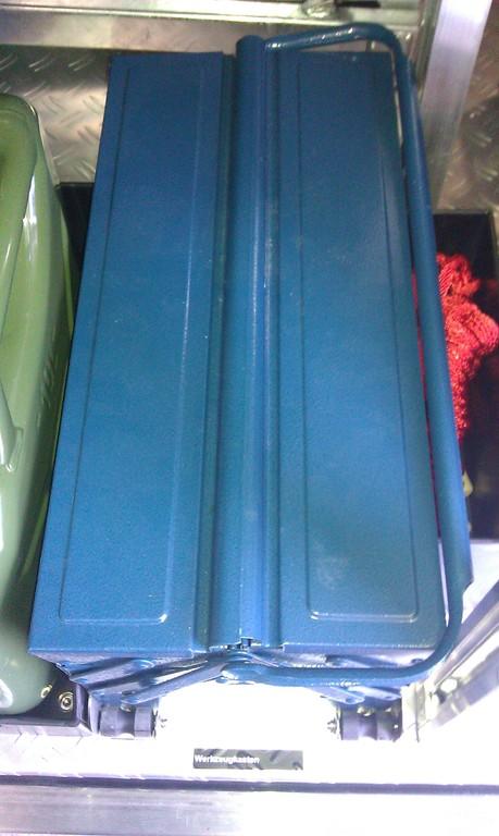 Werkzeugkasten inkl. Werkzeug für PFPN 10-1000