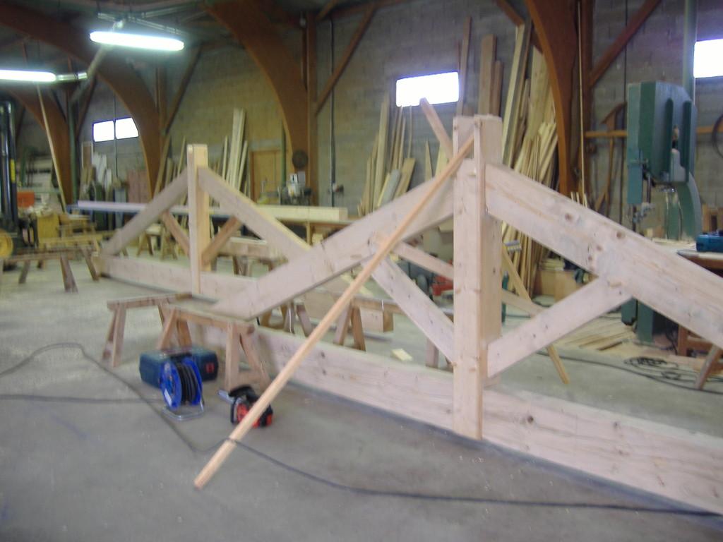 Fabrication en atelier
