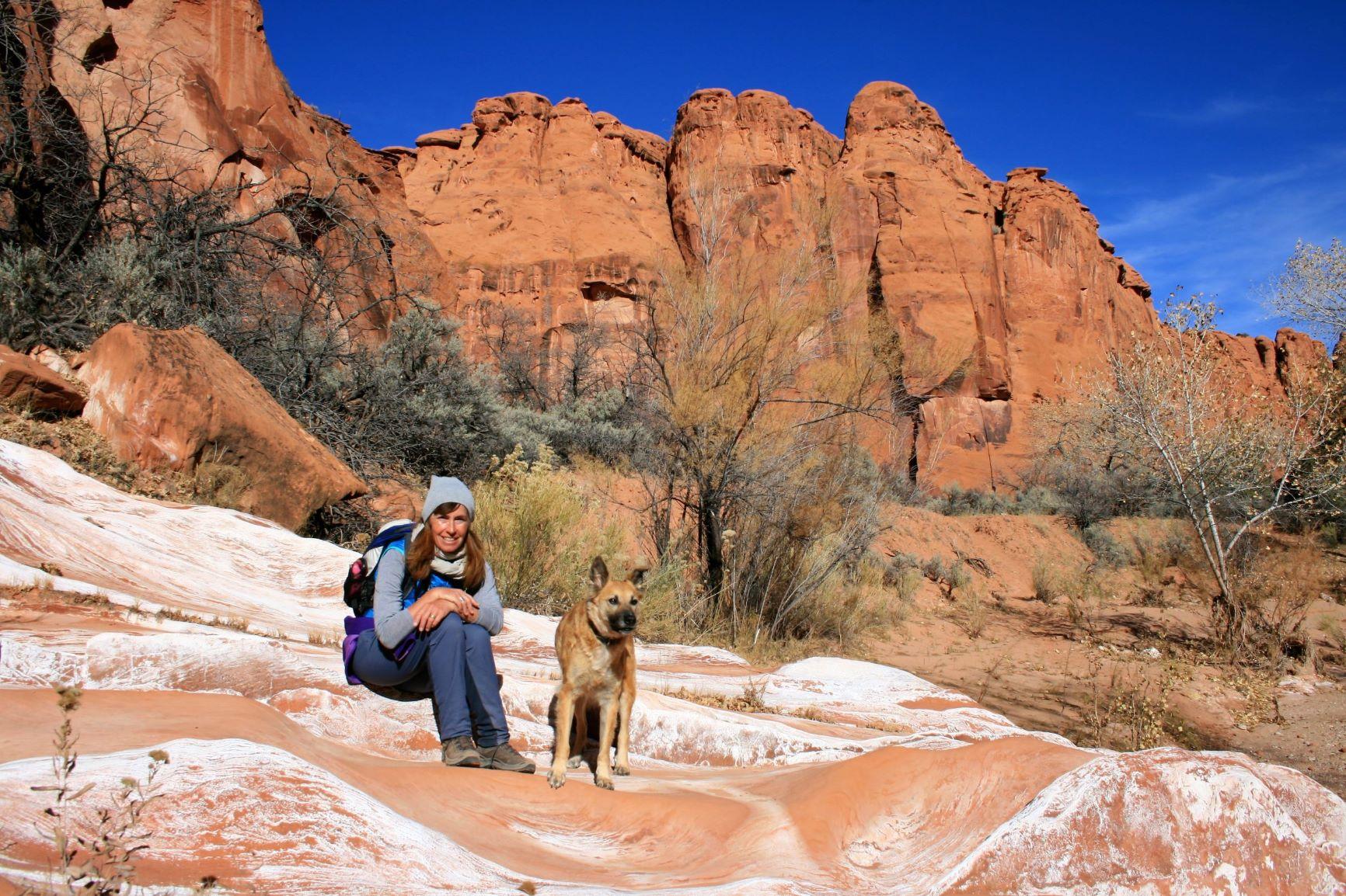 hier ist der Death Hollow Canyon noch weit und wir genießen die Sonne...