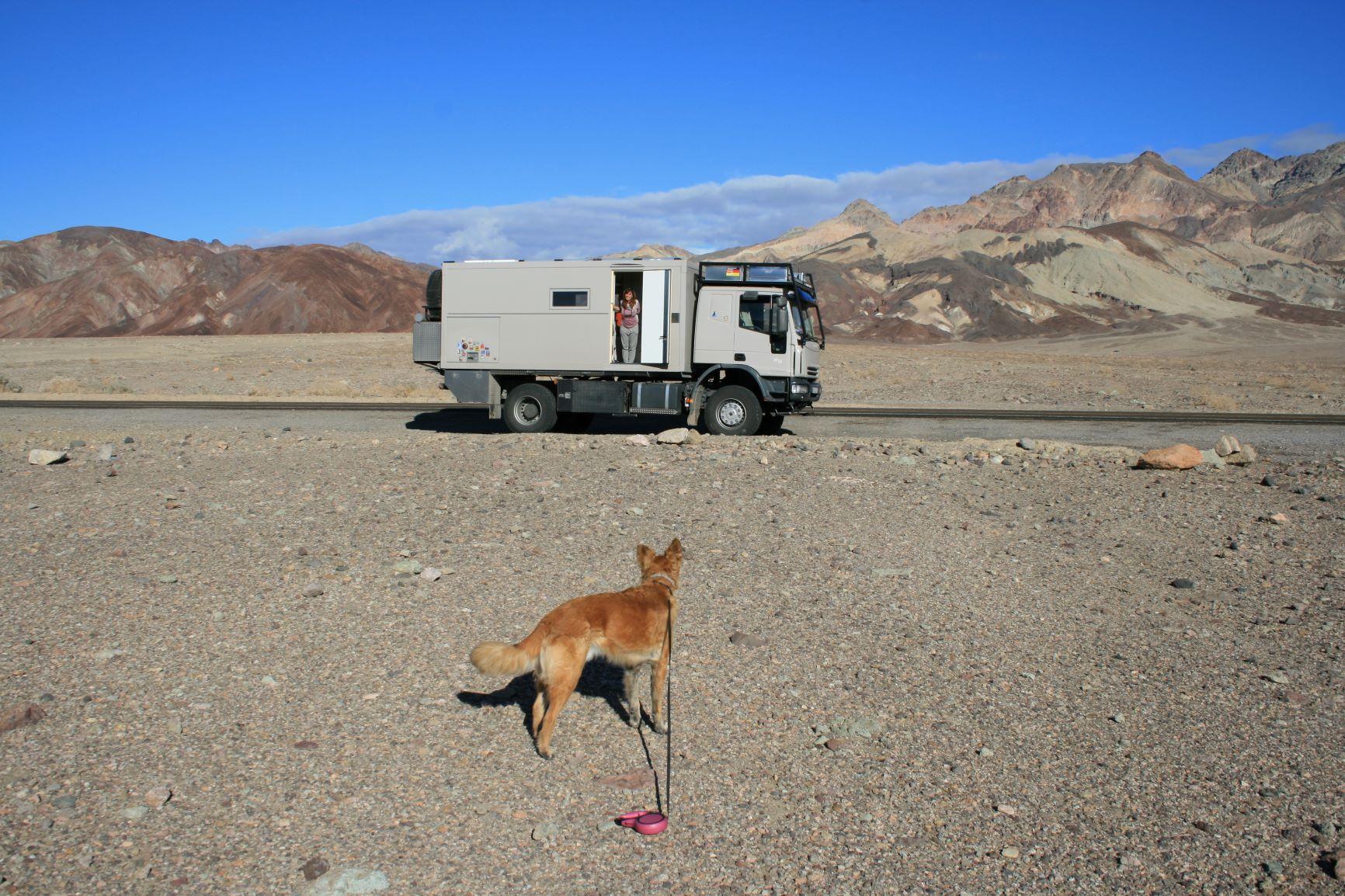 Mittagspause im Death Valley