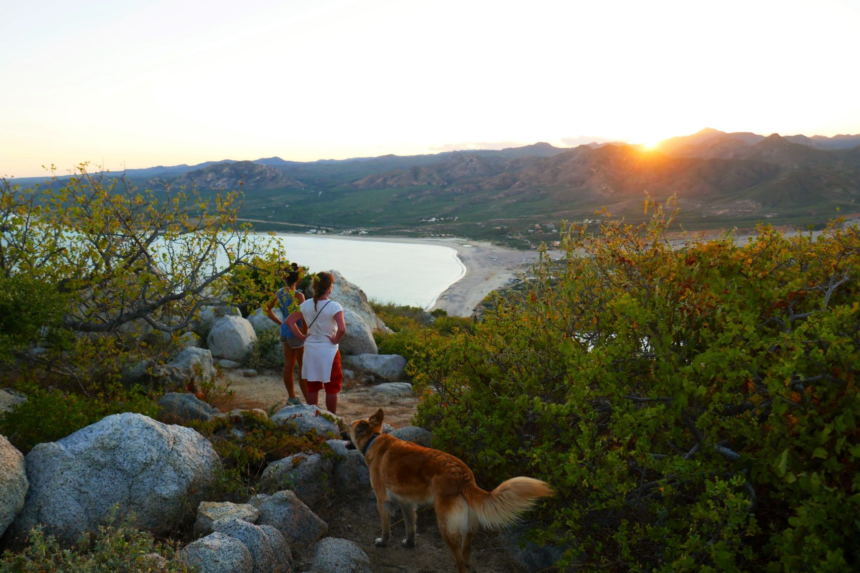 Sonnenuntergang über Los Frailles
