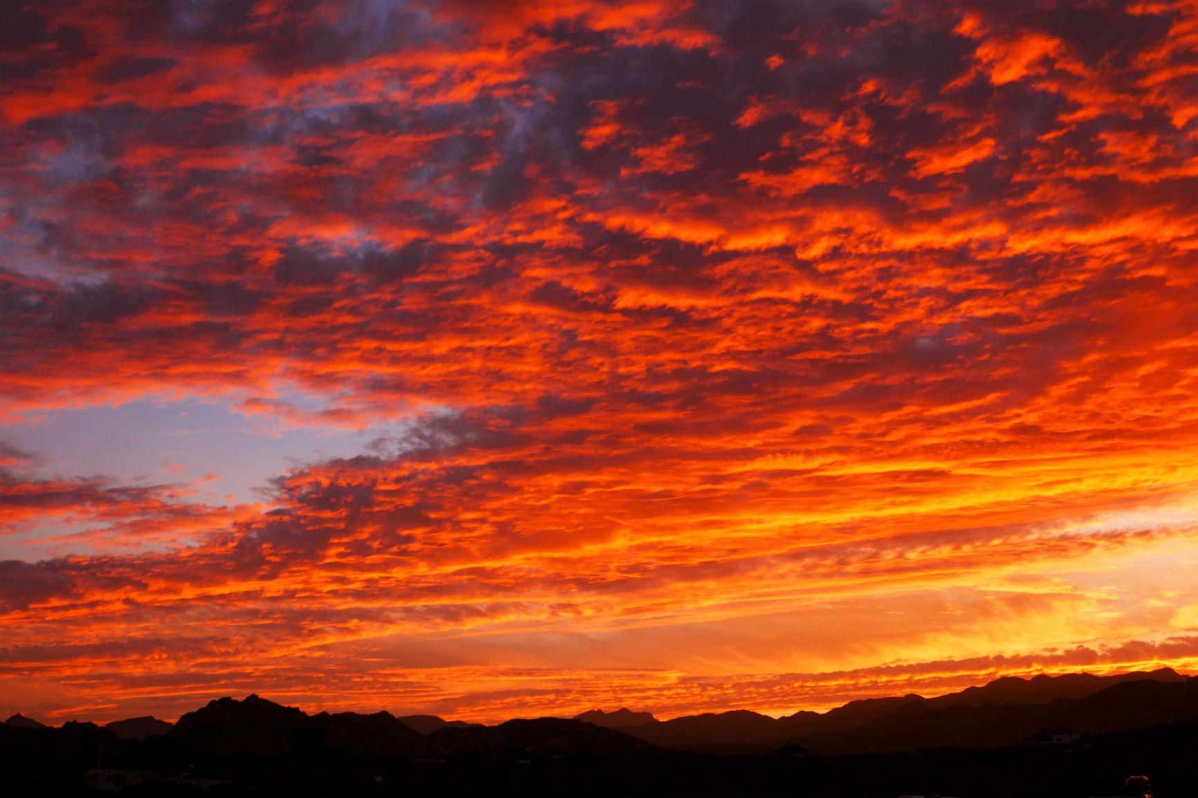 Sonnenuntergang am Capo Pulmo