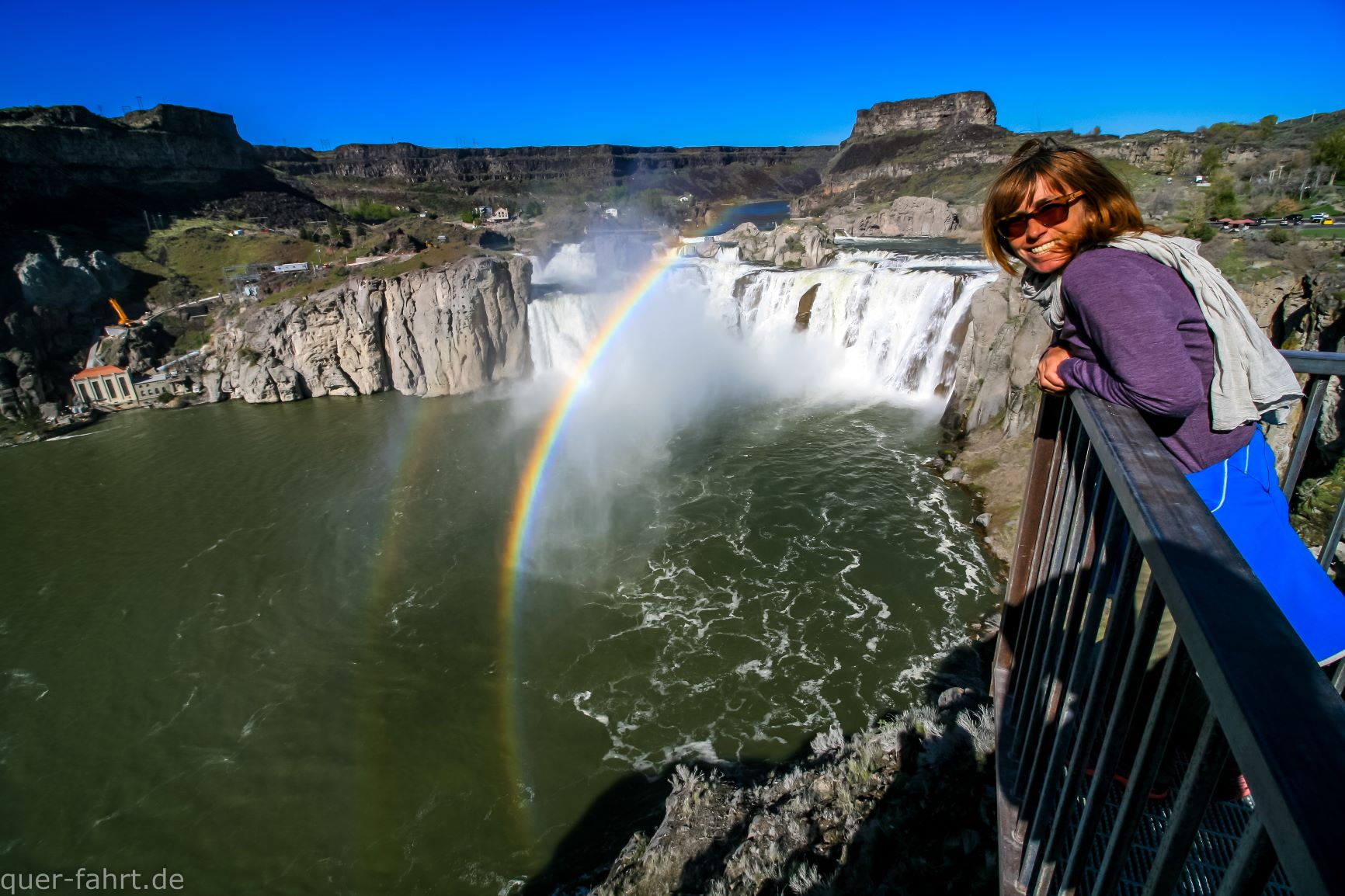 am Shoshone Fall