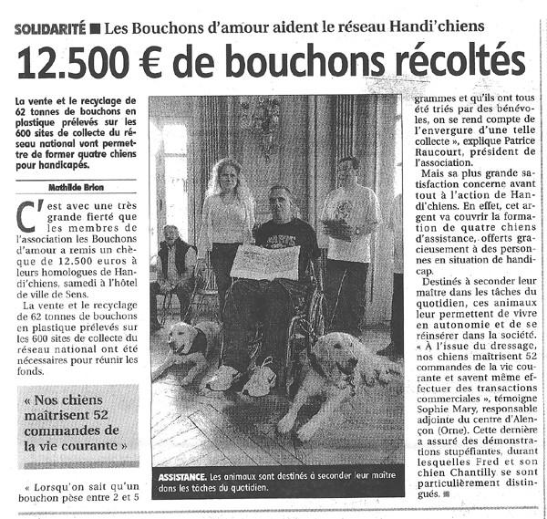L'Yonne républicaine du 28 mai 2011