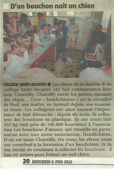 L'Yonne républicaine du 8 juin 2011