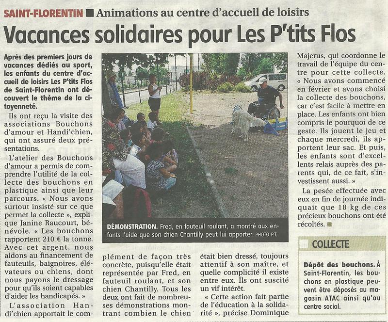 L'Yonne républicaine du 23 juillet 2013