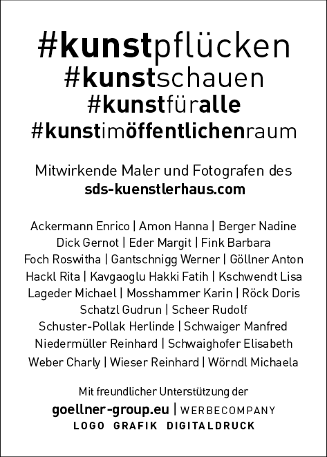 Alle beteiligten Künstler der 1. Auflage 2.500 Stück