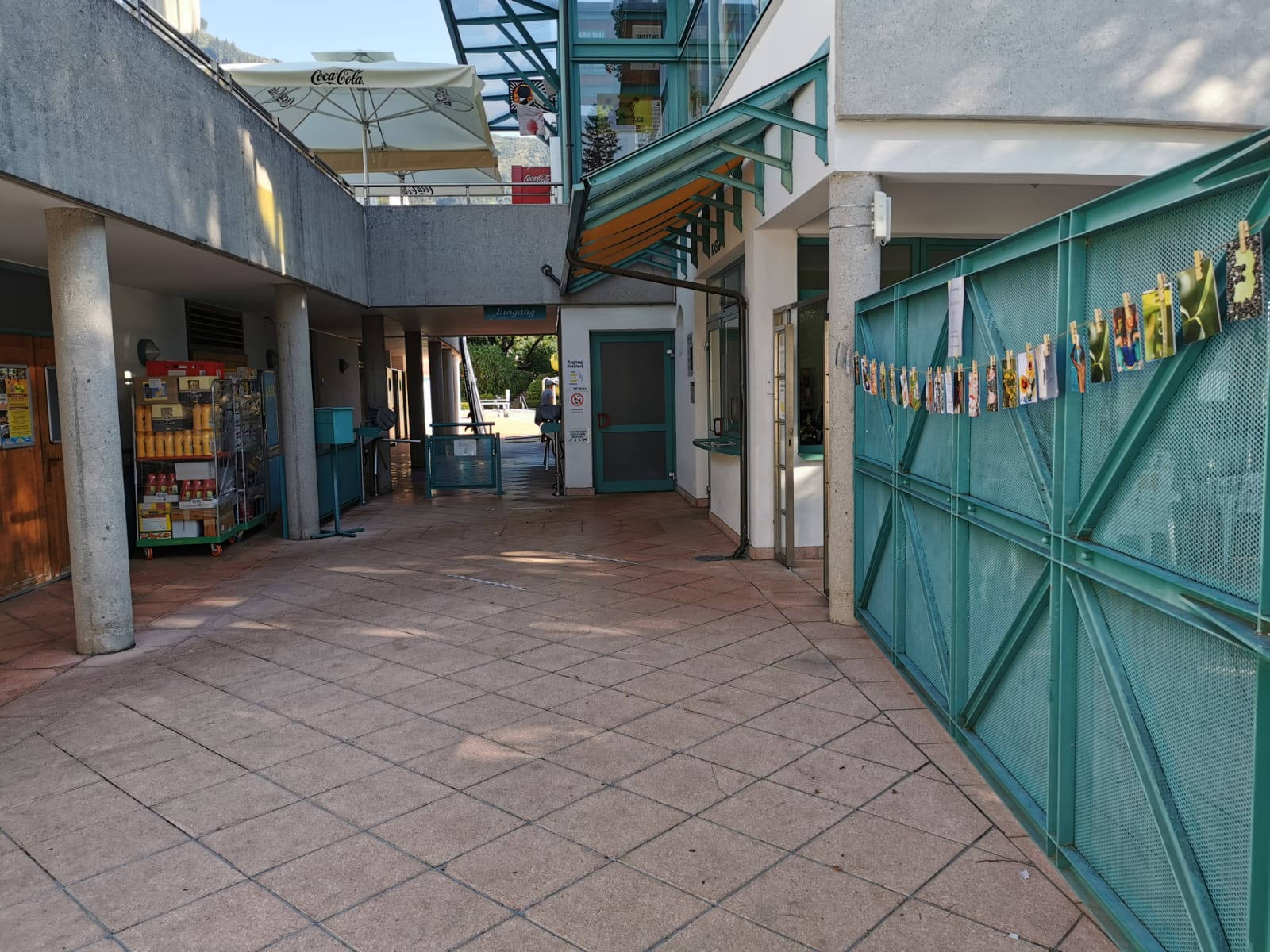 Standort Zell am See - Eingang Zeller Strandbad