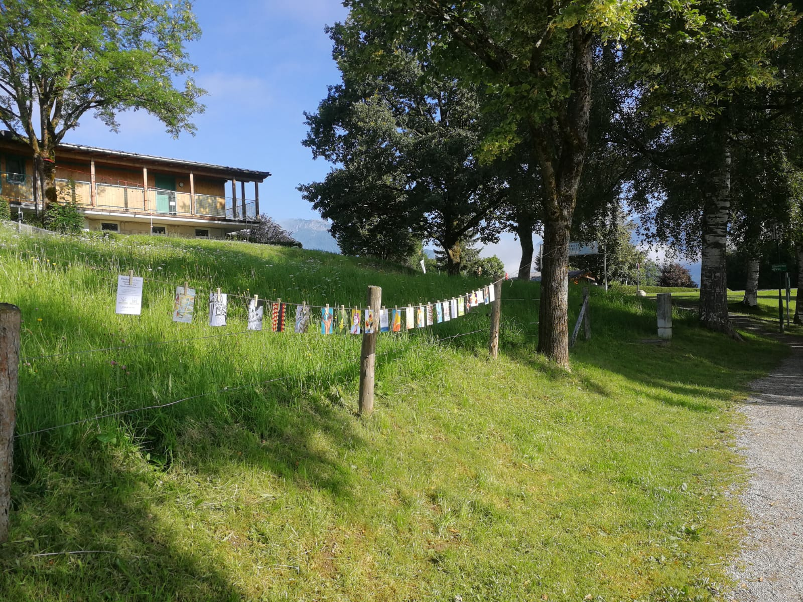 Standort Ritzen Wanderweg