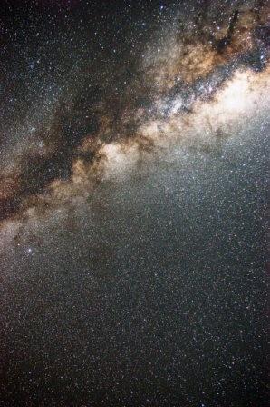 Milchstraßenausschnitt