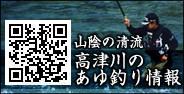 山陰の清流高津川のあゆ釣り情報へ
