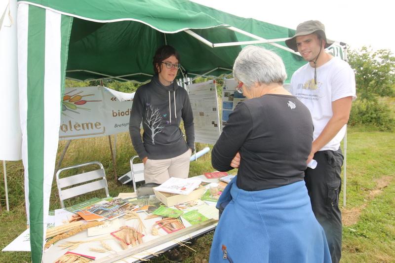L'association Triptolème oeuvre beaucoup pour les blés anciens.