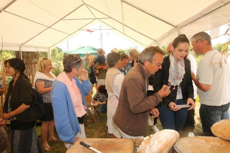 Dégustation et vente de pains aux variétés anciennes de blé