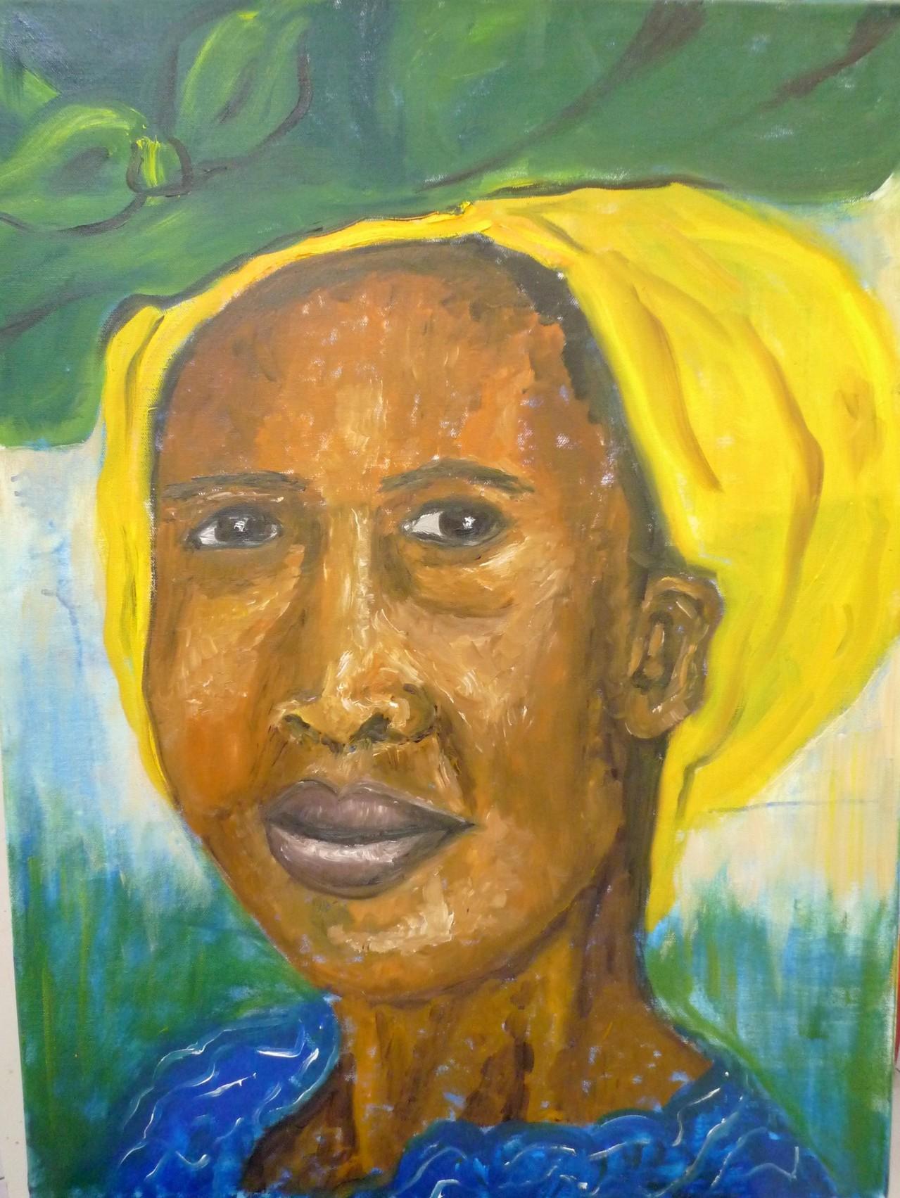 Afrikanerin 60 x 80 cm