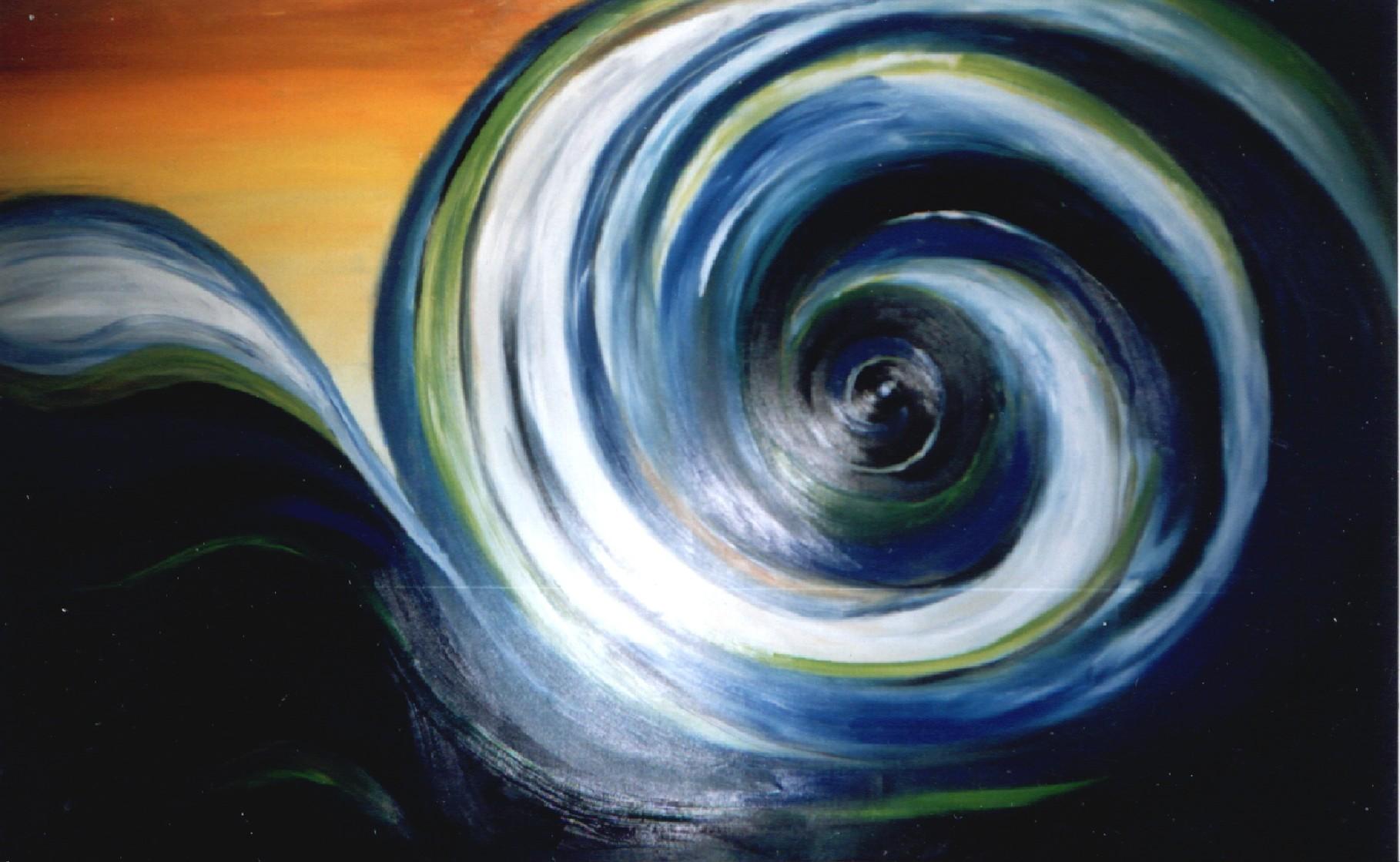 große Welle 160 x 120 cm  - verkauft -