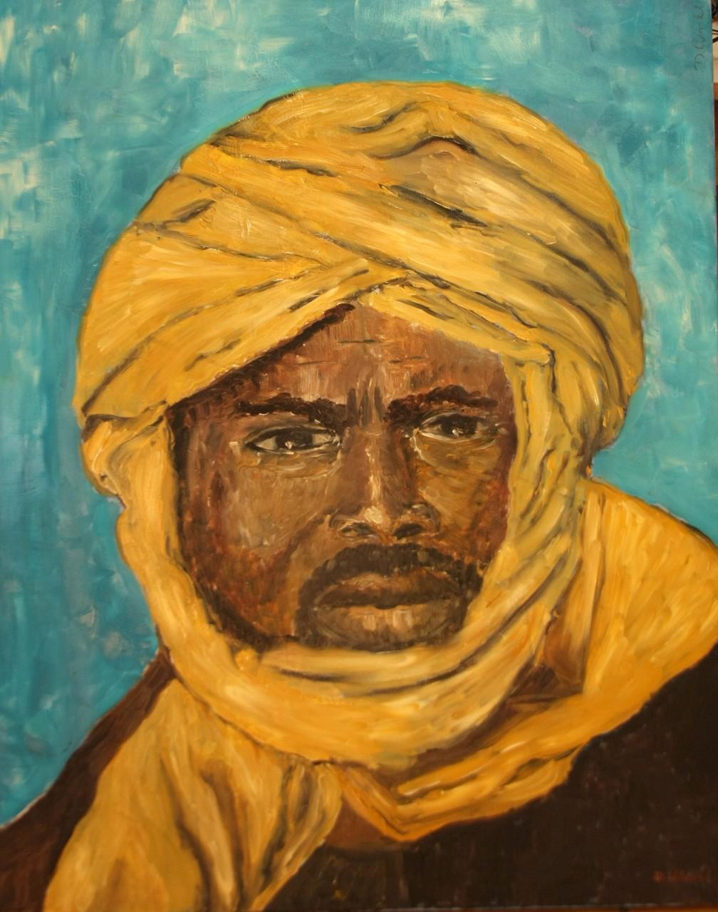 Tuareg 80 x 100 cm