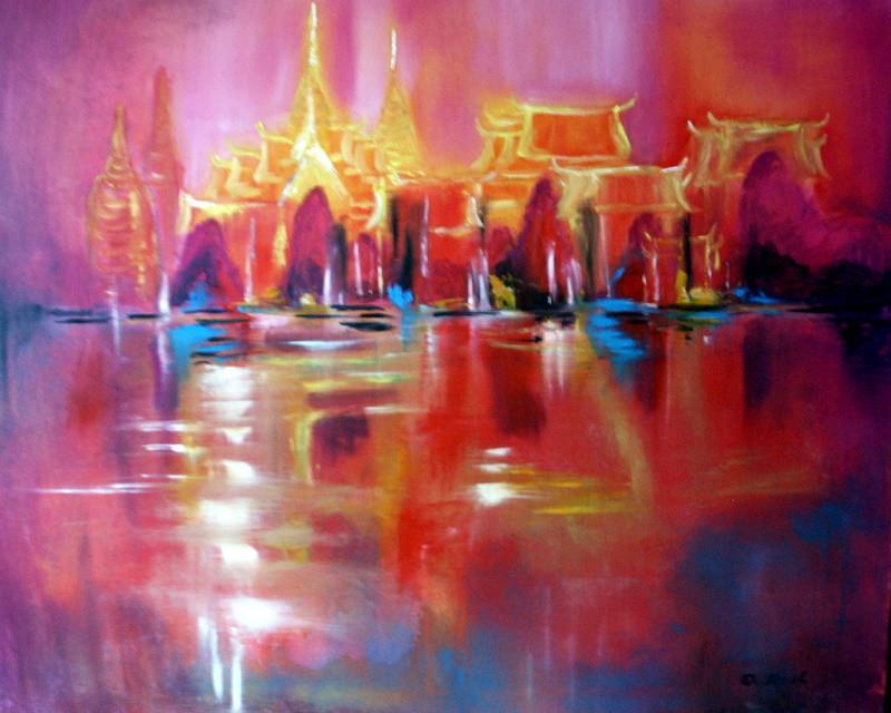 Bangkok 100 x 80 cm