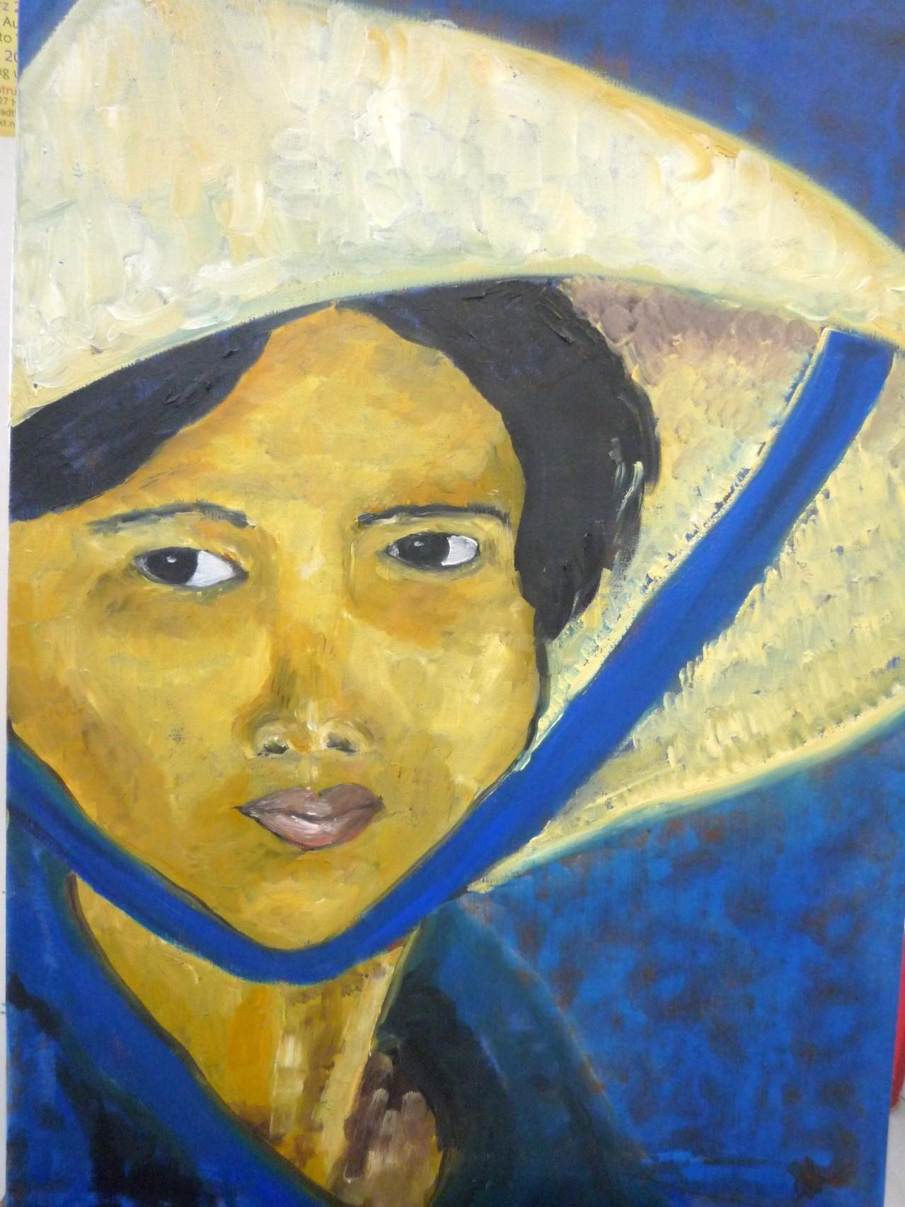Vietnamesin 50 x 70 cm