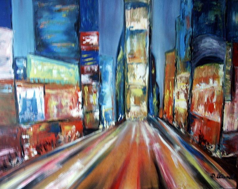 Times Square 100 x 80 cm