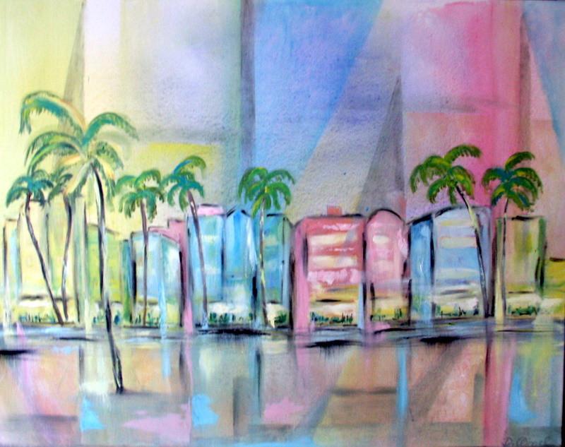 Ozeandrive Miami 100 x 80 cm - verkauft-