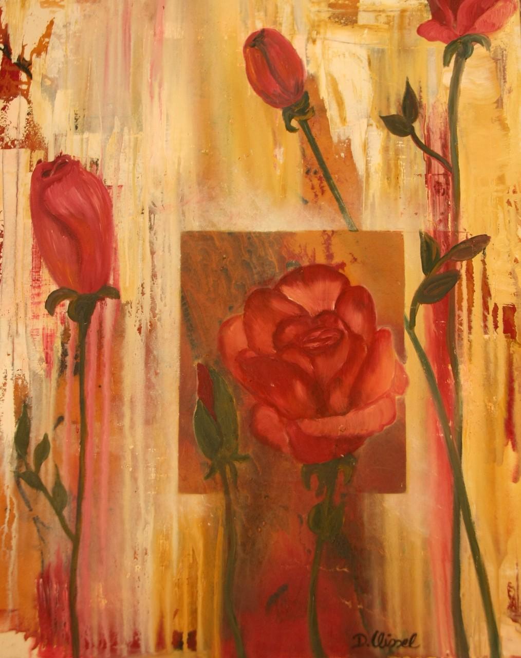 Rosen 80 x 100 cm