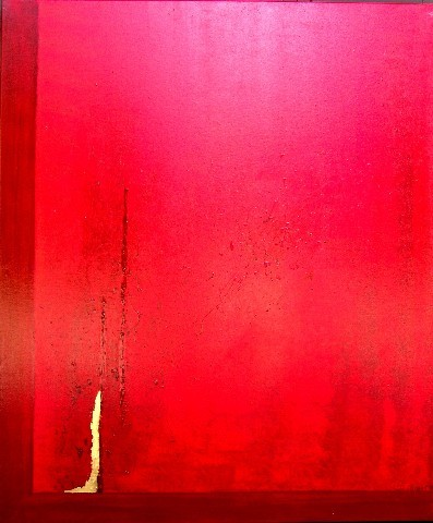 Red Love 100 x 120 cm