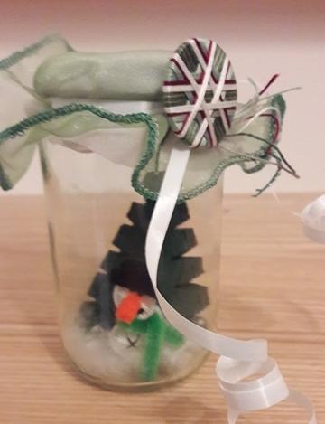 """©St-Asp: Da die meisten schon ihr kleines Geschenk erhalten haben - nun die Auflösung: """"süßer Mann"""" im Glas - als kleines Weihnachtsgeschenk."""
