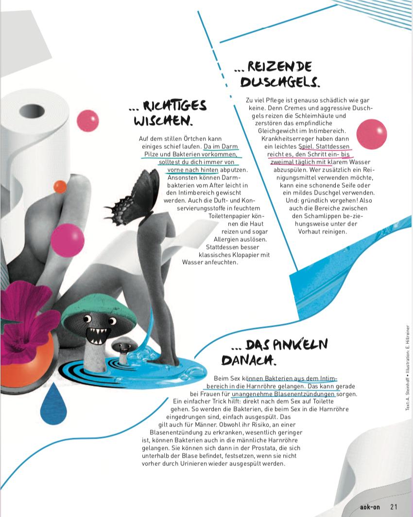Bildredaktion für :wdv / Kunde AOK ON Jugendmediensystem