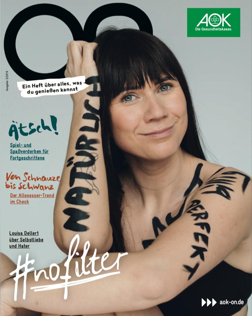 Bildredaktion für :wdv / Kunde AOK ON Jugendmediensystem / Louise Dellert