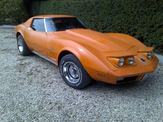 Chevrolet Corvette 1973 V8 5,7 l (Mr Florent G. 78)