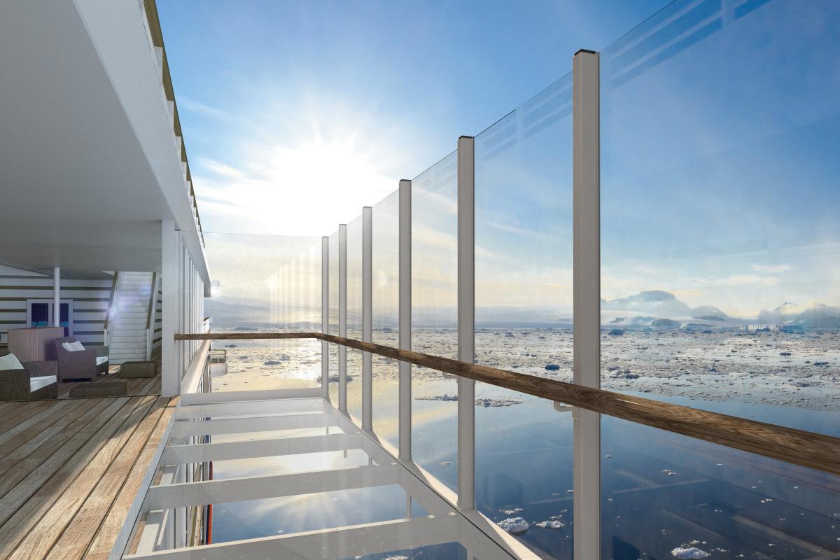 Gläserne Balkone: Schweben über dem Ozean mit perfekten Aussichten