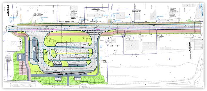 Neubau eines ZOB und Ausbau der Eisenbahnerstraße in der Stadt Hagenow - Detailplanung