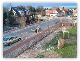 Ausbau der Rosenstraße in der Stadt Zarrentin, 1. - 3. Bauabschnitt